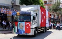 BEBEK MAMASI - AK Parti'den Kudüs'e Yardım Tırı