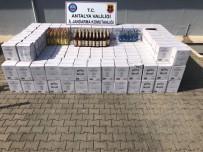 EVRENSEKI - Antalya'da Otele Kaçak İçki Operasyonu