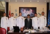TATBIKAT - Askeri Gemilerin Komutanları Belediyeyi Ziyaret Etti