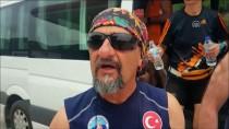 BAYRAK YARIŞI - 'Ata Toprağını' Anıtkabir'e Getiren Atletler Kızılcahamam'da