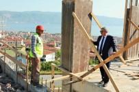 HEREKE - Başkan Baran, Çalışmaları Yerinde İnceledi