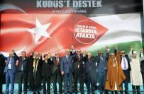 İSMAIL KAHRAMAN - Cumhurbaşkanı Erdoğan Ve MHP Genel Başkanı Devlet Bahçeli El Ele Mitinge Katılanları Selamladı