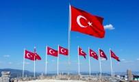 JANDARMA GENEL KOMUTANLIĞI - Dokuz Şehidin Anısına Dokuz Bayrak