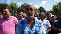 İŞ BIRAKMA - Edirne'de Bazı Belediye İşçilerinden İş Bırakma Eylemi