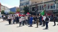 SELAHATTIN EYYUBI - Edirne'de İsrail'e Prtesto