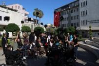 TÜRKIYE SAKATLAR DERNEĞI - Engelliler Toros Üniversitesi'nde Kep Attı