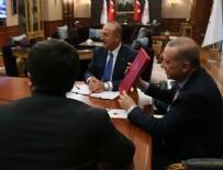 CUMHURBAŞKANLIĞI KÜLLİYESİ - Erdoğan ve Maduro telekonferansla anlaşma imzaladı
