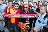 YASIN ÖZTEKIN - Galatasaray Şampiyon Gibi Karşılandı