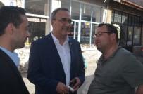 YAKUP YıLMAZ - Gökhan Karaçoban Esnafla Kucaklaştı