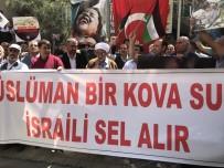 MAZLUM - Iğdır'da İsrail Protesto Edildi