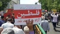 CUMA NAMAZI - İran'daki Gösterilerde 'Kahrolsun İsrail' Sloganları Yükseldi
