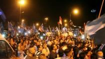 KERKÜK - Kerkük'te Türkmen Gençlerden Kefenli Protesto