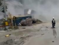 HİDROELEKTRİK - Kolombiya'da Barajda Göçük Açıklaması 5 Bin Kişiye Tahliye