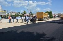 ALT YAPI ÇALIŞMASI - Korkuteli'nde Sıcak Asfalt Başladı