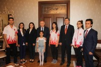 DÜNYA ŞAMPİYONASI - Milli Sporculardan Hatay Valisi Ata'ya Ziyaret