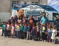 HAYVAN BAKIM EVİ - Minikler Belediye Hayvan Bakım Evini Gezdi
