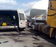 GÜMRÜK MUHAFAZA - Mobil Kaçak Akaryakıt İstasyonuna Suçüstü