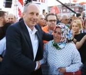 ACıMASıZ - Muharrem İnce İftarda Vatandaşlarla Bir Araya Geldi