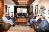 KAYSERI TICARET ODASı - Nursaçan'dan KTO Ve KAYSO'ya Ziyaret
