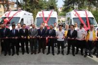 Ordu'ya 3 Ambulans