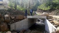 YAĞMURLU - Orhaneli Orman Yollarında Hummalı Çalışma