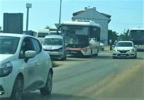 YENIKENT - Otobüsün Karıştığı Zincirleme Kazada 1 Kişi Yaralandı