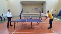 MASA TENİSİ - Pazarlar'da Masa Tenisi Turnuvası