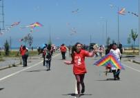 UÇURTMA ŞENLİĞİ - Trabzon'da Uçurtma Şenliği