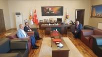 İLHAMI AKTAŞ - Vali Aktaş, NTSO Başkanı Parmaksız'ı Ziyaret Etti