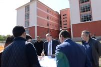 SEYFETTIN AZIZOĞLU - Vali Azizoğlu, İnşaatı Devam Eden Okulları İnceledi