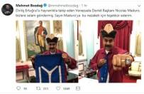 MAHMUD ABBAS - Venezuela Devlet Başkanı Maduro 'Diriliş' Hayranı Çıktı