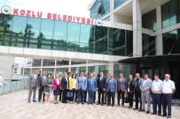 AHMET KARAKAYA - Yeni Hizmet Binalarına Taşınan Belediye Başkanı Yılmaz'a Ziyaretler Sürüyor