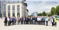 MİMARİ - Yeni Hizmet Binasını İncelediler