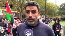 MELBOURNE - Avustralya'da İsrail'in Gazze Katliamı Protesto Edildi