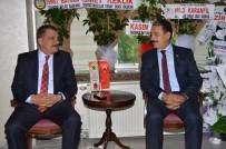 ESNAF ODASI - Başkan Gürkan'dan Keskin'e Ziyaret