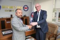 ODUNPAZARI - Başkan Kurt, Diyanet-Sen Başkanı Köroğlu'nu Ziyaret Etti