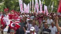 ANıTKABIR - CHP Gençlik Kolları Anıtkabir'e Yürüdü