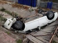 Demre'de Trafik Kazası Açıklaması 1 Yaralı