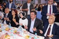 AKKONAK - Ekonomi Bakanı Zeybekci, Vatandaşlarla İftarda Buluştu