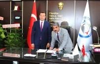 KAPALI ALAN - Esnaf Ve Sanatkarlar Odalar Birliği Proje Sözleşmesini İmzaladı