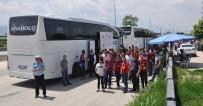 Final İçin Bursa'ya Gelen Taraftar Ve Otobüsler Didik Didik Arandı