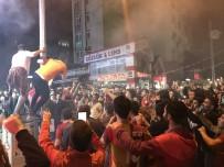 Galatasaraylı Taraftarlar, Fatsa'da Sokağa Döküldü