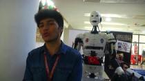 DOĞAN EROL - İnsansı Robot 'Yiğido' Nişan Alıp Atış Yapabiliyor
