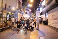 KALP MASAJI - Cadde ortasında boğazını kesti