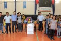 MUSTAFA ÇIÇEK - Kahta'da 40 Okula Spor Malzemesi Dağıtıldı