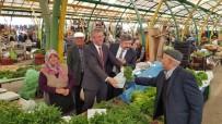 MUHAMMET ÖNDER - Kaymakam Muhammet Önder Ve Başkan Akçadurak, Pazarcı Esnafıyla Buluştu