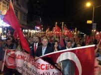 MALTEPE BELEDİYESİ - Maltepe'de Coşkulu 19 Mayıs Yürüyüşü
