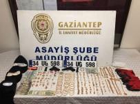 PARMAK İZİ - Maskeli Ve Silahlı Hırsızlar Kuyumcu Dükkanını Bir Buçuk Dakikada Boşalttı