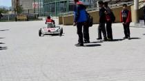 MUSTAFA GÜLER - Ortaokul Öğrencisi Atık Malzemelerden 'Go Kart' Aracı Yaptı