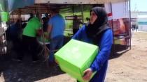 İDLIB - Suriyelilere Ramazan Yardımı